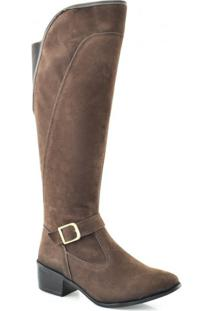 Bota Feminina Over The Knee Lady 11507