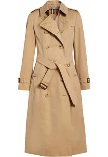 Burberry Trench Coat The Long Chelsea Heritage - Neutro