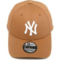 c1ffbaba09b80 Boné New Era Snapback New York Yankees Caramelo