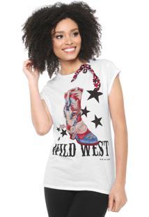 Camiseta Lez A Lez Wild West Branca - Kanui