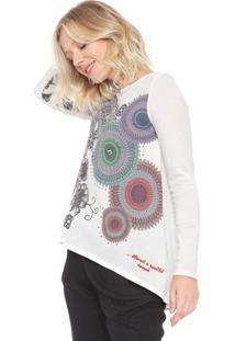 Camiseta Desigual Angela Branca