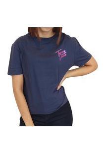 Camiseta Tommy Jeans Básica Marinho Logo
