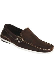 3b53efa23 Mocassim Cafe Rustico masculino | Shoes4you