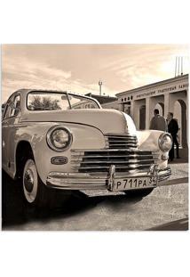 Quadro Carro Uniart Preto & Branco 45X45Cm