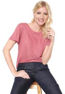 Camiseta Lez A Lez Básica Rosa