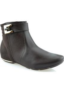 Bota Anabela Comfort Flex - 1791301