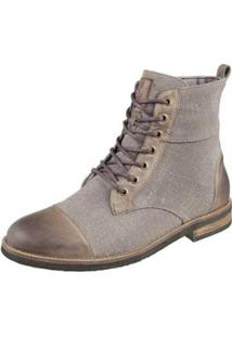Bota Shoes Grand Cadarço Masculina - Masculino-Marrom