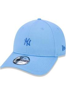 a03695f7a Boné 940 New York Yankees Mlb Aba Curva Snapback New Era - Masculino-Azul  Claro