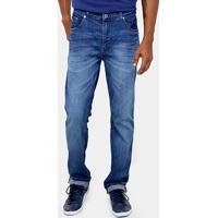 fe682c95879db Calça Jeans Lacoste Slim Fit Lavado Masculina - Masculino