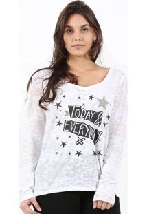T-Shirt It'S & Co Devore Branco