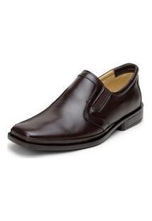 Sapato Moderno Social Masculino Conforto Call Shoes - 2016 Marrom