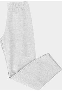 Calça Infantil Kyly Básica Masculina - Masculino-Cinza