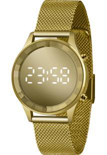 Relógio Feminino Digital Led Lince Ldg4648L Cxkx