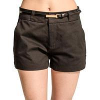 b7f8084df Shorts Sarja Alfaiataria Colcci - Feminino-Preto