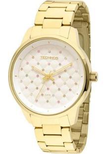 Relógio Technos Feminino Analógico Dourado -2035Lxu/4K 2035Lxu/4K - Feminino-Dourado