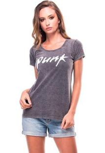 Camiseta Estonada Punk Useliverpool Feminina - Feminino