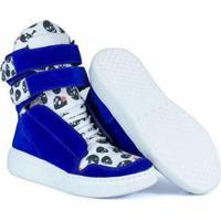 Netshoes. Tênis Sneaker Feminino Couro Bota De Treino Cheia De Marra ... 4f1a2abb557