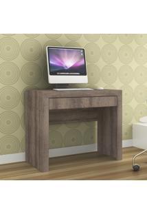Mesa Escrivaninha Simples Movelbento 1 Gaveta Rústico