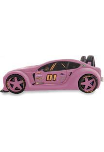 Cama Carro Zmax Racing - Rosa