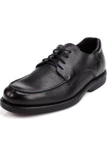 Sapato Social Sidewalk Floater Confort Masculino - Masculino-Preto