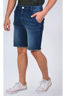 Bermuda Jeans Moletom Cintura Alta Yck'S - Kanui