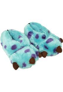 Pantufa Ricsen Garra Sulley 3D Azul