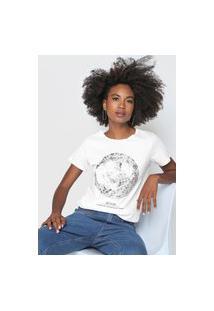 Camiseta Lez A Lez Moon Branca