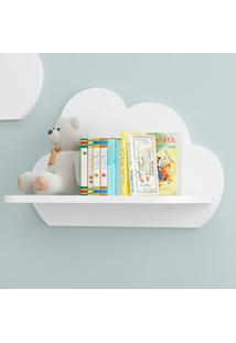 Prateleira Decorativa Nuvens 2706.156 Branco - Multimóveis