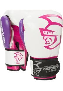 Luva De Boxe/Muay Thai Pretorian Elite Training 14Oz - Unissex