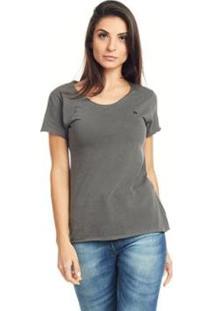 Camiseta Feminina Bossa - Logo Bossa - Feminino-Preto