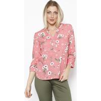 64d7913f13 Blusa Com Botões - Rosa   Brancavip Reserva