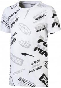 Camiseta Infantil Puma Graphic Masculina - Masculino
