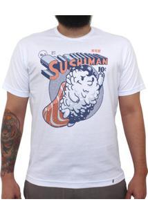 Sushiman - Camiseta Clássica Masculina