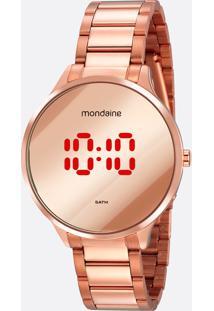 Relógio Feminino Digital Mondaine 32060Lpmvre2