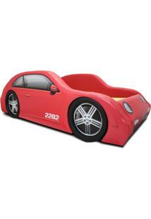 Cama Carro Fusca Vermelho