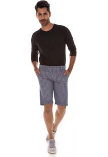 Bermuda Jeans Express Gaspar Masculina - Masculino-Cinza