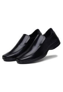 Sapato Social Bertelli Antistress Confort Preto