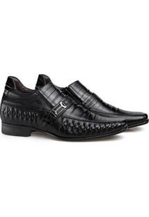 Sapato Social Couro Rafarillo Masculino Tresse Dia A Dia - Masculino