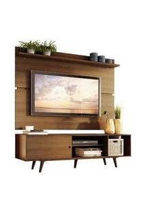 Rack Madesa Dubai E Painel Para Tv Até 65 Polegadas Com Pés Rustic Rustic