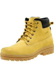 Bota Atron Shoes Worker Amarela
