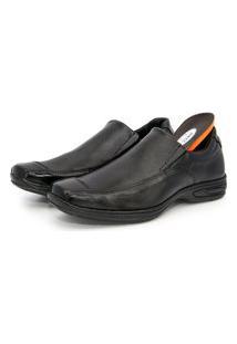 Sapato Masculino Couro Preto Br2-452