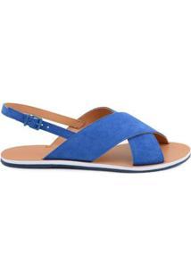 Rasteira Summer Fun Colors Mr. Cat Feminina - Feminino-Azul