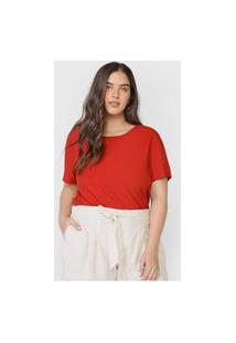 Camiseta Colcci Lisa Vermelha