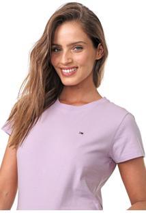 Camiseta Tommy Jeans Lisa Lilás
