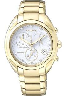 Relógio Analógico Tz28324H- Dourado & Prateado- Citicitizen