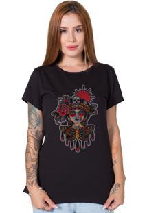Camiseta Butterfly Girl Preto
