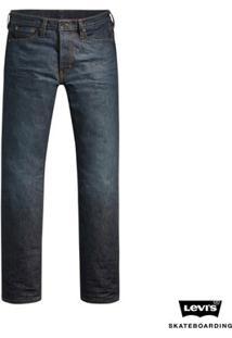 Calça Jeans Levis Man Skateboarding 504 Straight Média - Masculino