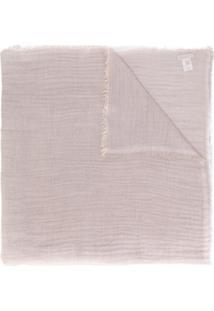 Le Tricot Perugia Echarpe De Lã - Pink & Purple