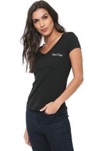 Camiseta Planet Girls Básica Preta