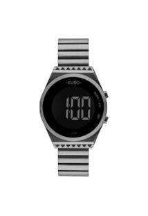 Relógio Feminino Euro Eubjt016Ac/4C Digital 5Atm | Euro | Preto | U